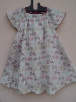 Most kids baby girls birthday party wear dresses / Cotton frocks & skirts for girls wear in screen prints