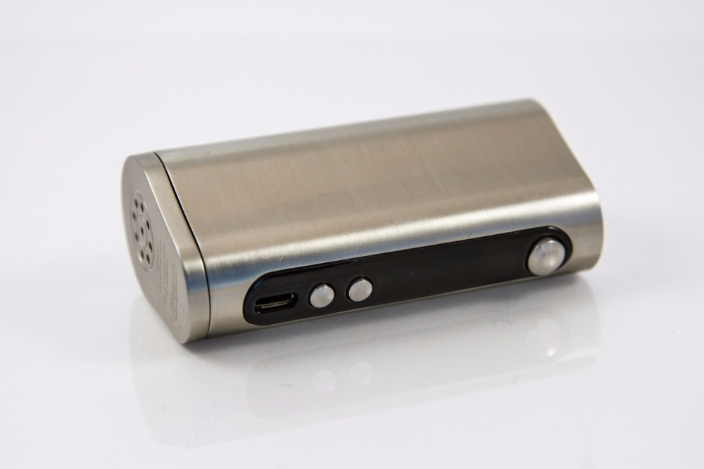 VaporFlask Stout 100W TC - Silver (designed by Vape Forward & produced by Wismec)