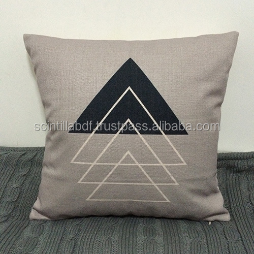 Free Shipping, 1pc, Couch Sofa Cotton Linen Pillow Cover, Custom Accept