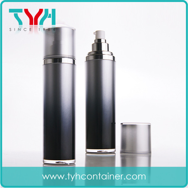 120ml Cylindrical Round Shape Bottle in Double Layer
