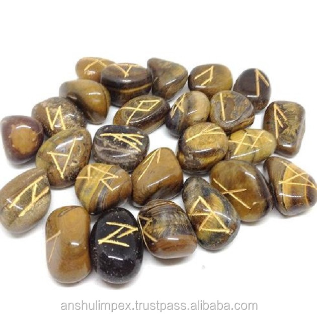 Wholesale Tiger Eye rune sets, runes stones, wholesale runes.