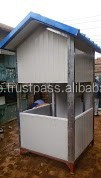 Fiberglass security Guard cabin/room