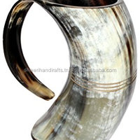 Drinking Horn Engraving Mug Valuable Mug