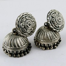 Royal Dangler !! Oxidized Plain Silver 925 Sterling Silver Earring, New Year Silver Jewelry, All Over World Shipping