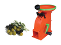 Olive scratching machine