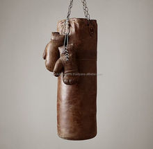 100% Crunch Vintage Leather Punching Bag 2017 Collection Hot seller