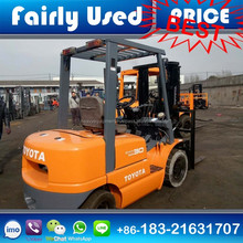Good Condition Japan Used 3 ton Toyota FD30 Forklift for sale