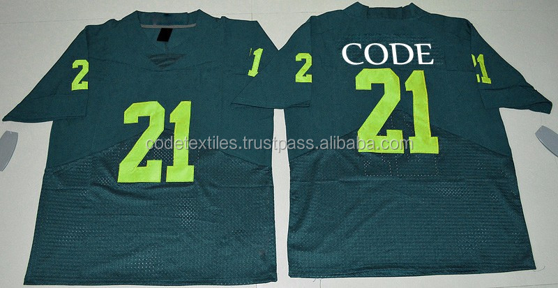 2017 Fashion customized sublimation American football jerseys uniforms
