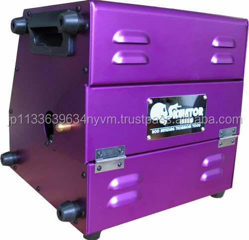 Durable safe fishing rod making machine from Japanese supplier