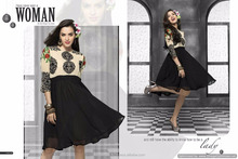 georgette kurti designs for stitching