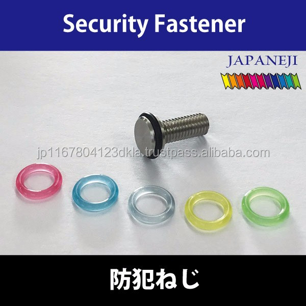Beautiful and Unique screw for diy solar panels made in Japan