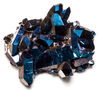 Cobalt Blue Coated Crystal Cluster