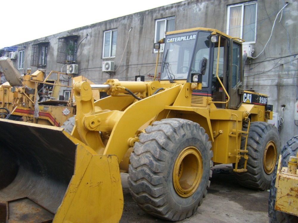 Used CAT 950F Wheel Loader, CAT 950 950F Wheeled Loader for sale, very cheap price