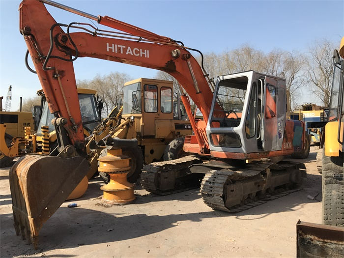 ISUZU Engine EX120 Used Excavator Fiat Hitachi With Original Color