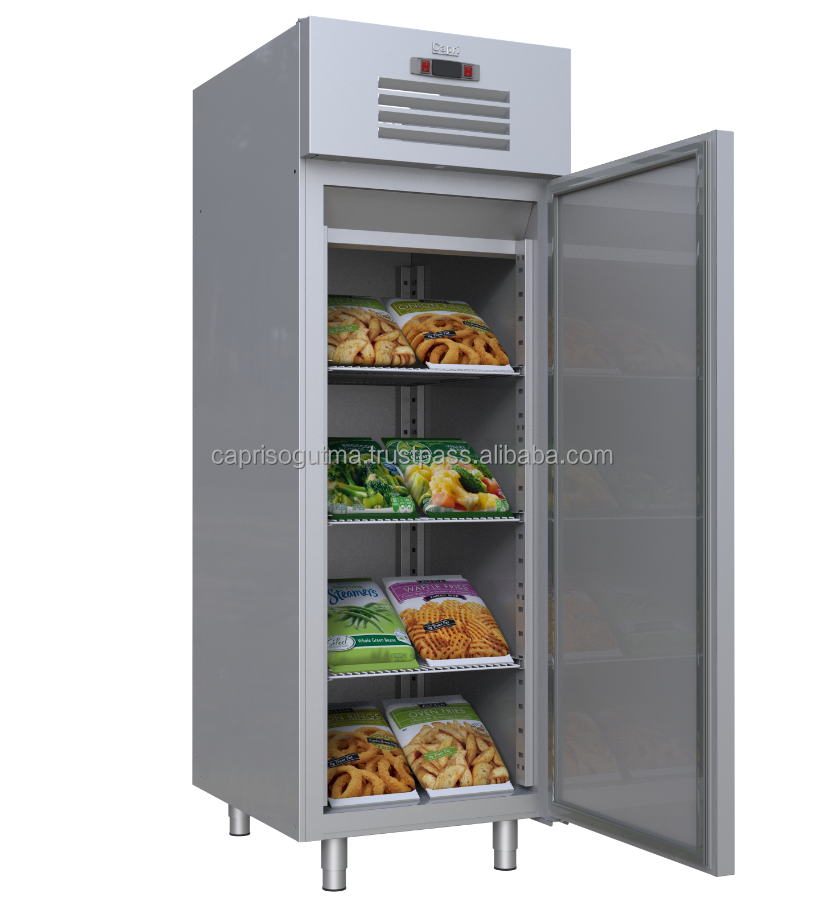 Stainless Steel Commercial Kitchen Refrigerator Freezer Upright 1 Door,2017 New OEM CE