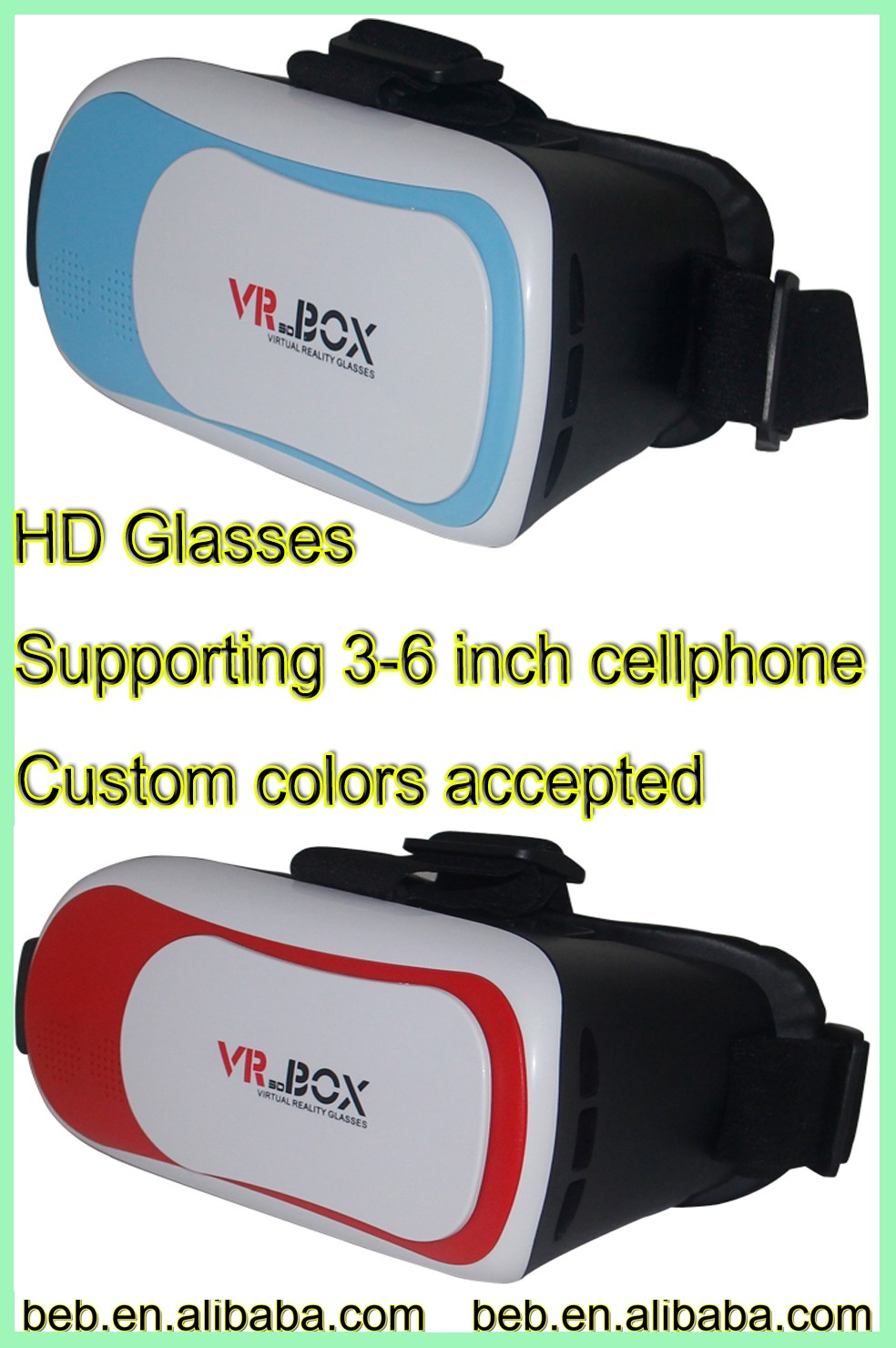 Low price high quality vr headset dropship from factory reliable manufacture vr headset
