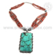 Eye Tempting Gemstone Jewelry Coral Turquoise Necklace Exporter 925 Sterling Silver Jewelry
