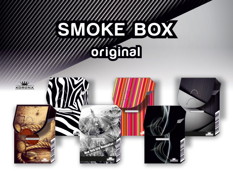 Etui for cigarettes - Smoke BOX Korona - covering box for cigarettes