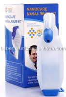Manufacturer 250ml plastic Nasal wash Bottle, nose rise kit for baby and sinus people