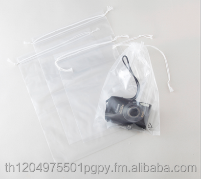 LDPE Drawstring pull bag