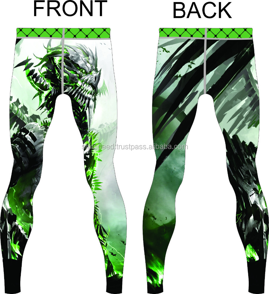 Yoga Pants Fitness Printed Pants Sports womens Printed tights
