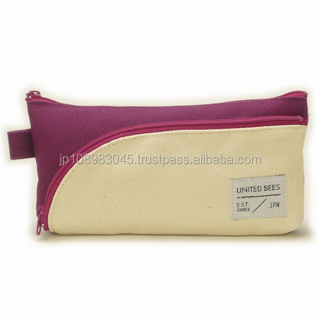 Japanese canvas cloth sail HANPU / HAMPU ballpoint pen bag made in Japan for wholesale