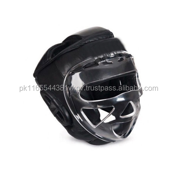NEW FACE SHIELD BOXING HEAD GUARD