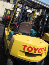used Toyota forklift FD20 Japanese forkman 2 tons truck hot sale good performance in Shanghai