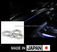 Special products Nishi-Seiko Lock nut for major automobile brands car with multiple functions made in Japan