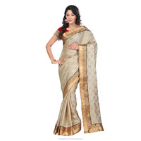 Triveni Brocade Bodered Art Silk Saree