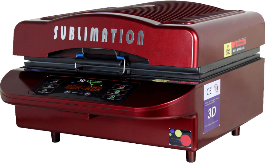 Mini sublimation vacuum 3d heat press