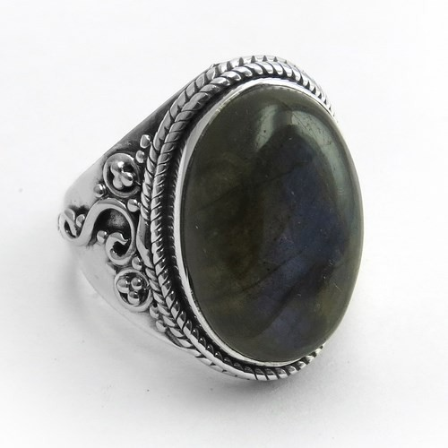 Time Has A Wonderful Way !! Labradorite 925 Sterling Silver Ring, Silver Jewelry Supplier, 925 Sterling Silver Jewelry