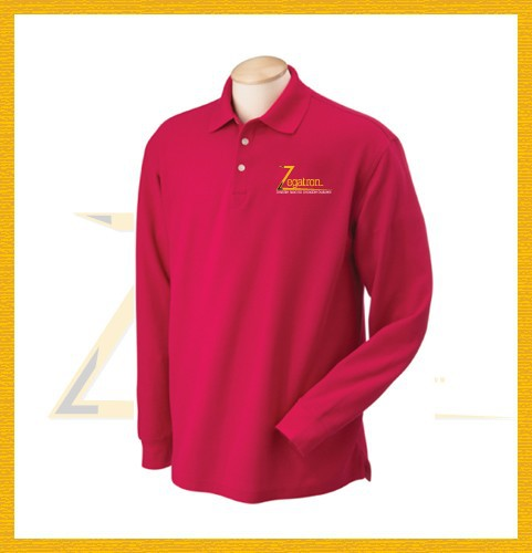 Wholesale custom plain long sleeve polo t shirts top tee