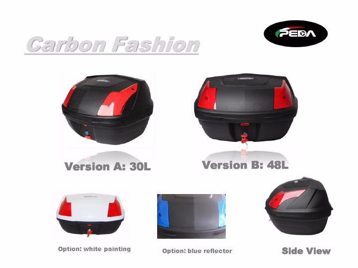 (PEDA 2017)NEW Motorcycle Rear Box PP BOX for eBike e Scooter Italian Fasion Deisgn (PEDA MOTOR)(online shop supplier)