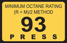 OCTANE 93 RATED GASOLINE RUSSIAN ORIGIN
