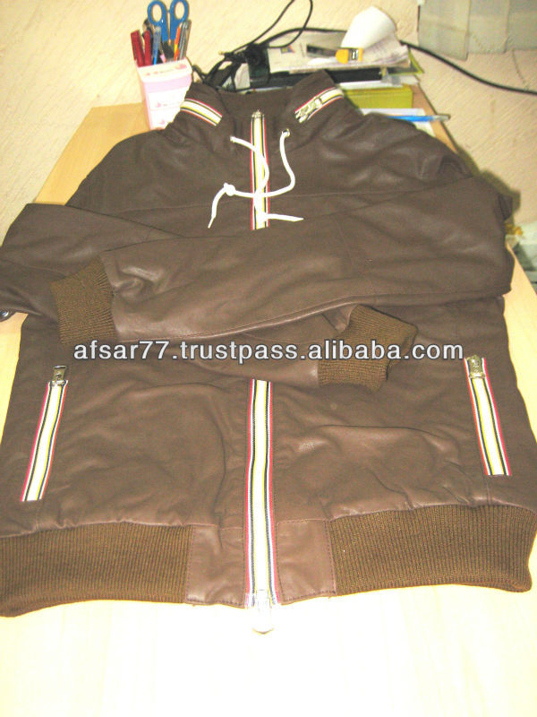 MENS & WOMENS JACKETS MADE OF GENUINE SHEEP LEATHER