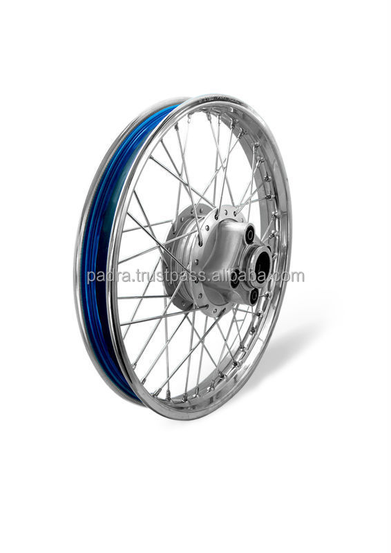 Motorcycle CG125 Complete Wheel For Pakistan Market