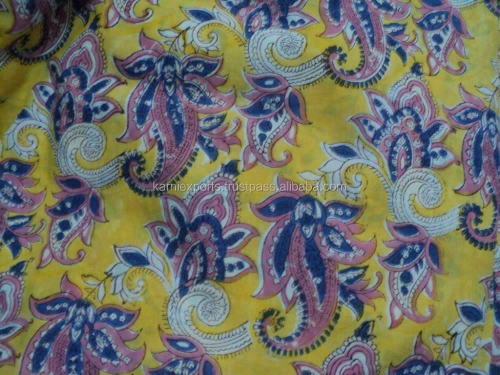 Cotton Cambrics Fabrics Printed / wholesellers & manufacturers of fabrics / Fabrics Exporters in jaipur