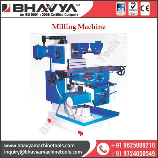 Universal All Geared Milling Machine With Latest Technology
