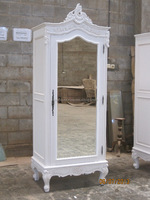 French Style Reproduction Furniture - French 1 Door Wardrobe