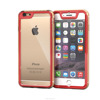 Full Body Hybrid PC polycarbonate/TPU Case Cover for iPhone 6 6s 4.7 inch Screen Protector Impact Protection (Red) roocase