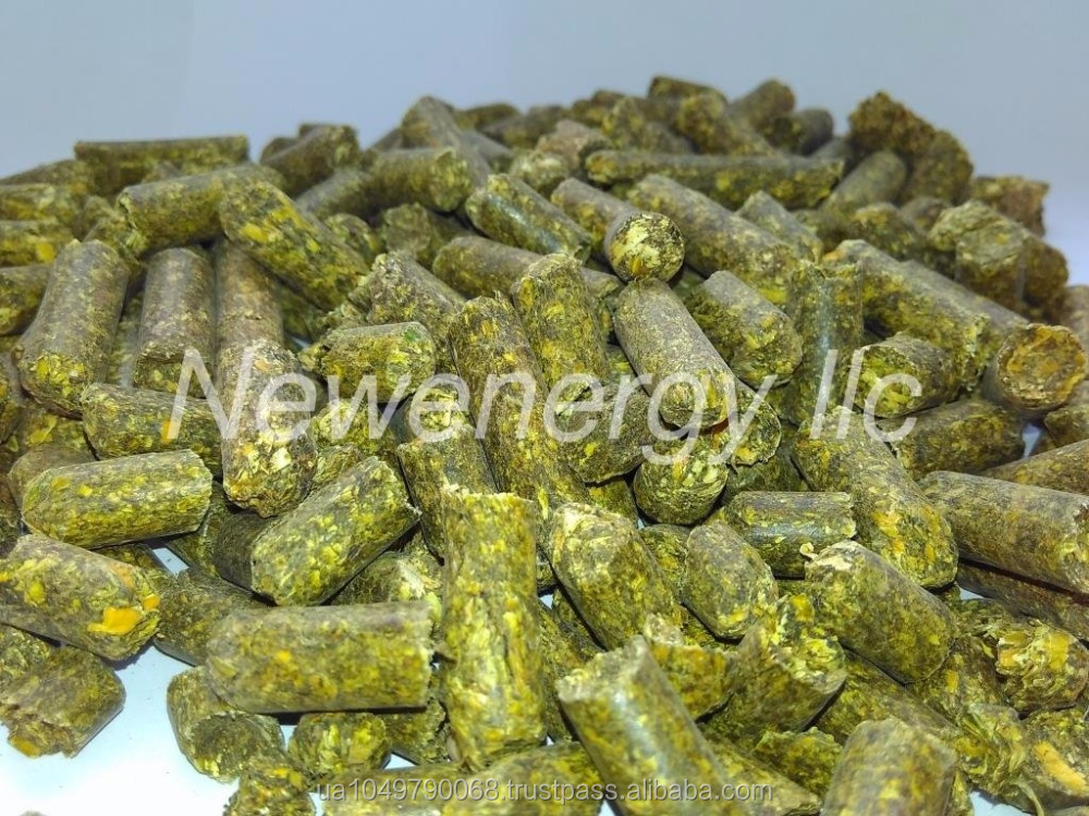 GREEN ALFALFA IN PELLETS