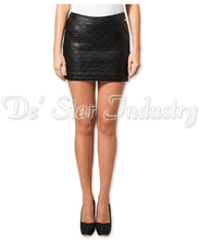 Black Leather Skirts For Women