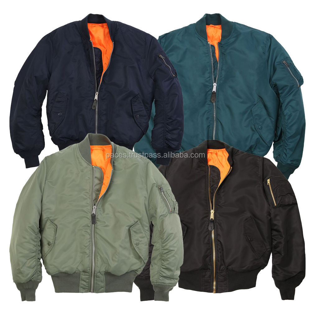 Custom made Bomber Jackets with Embroidered logo/ High Quality Bomber Jacket/ winter jackets for men