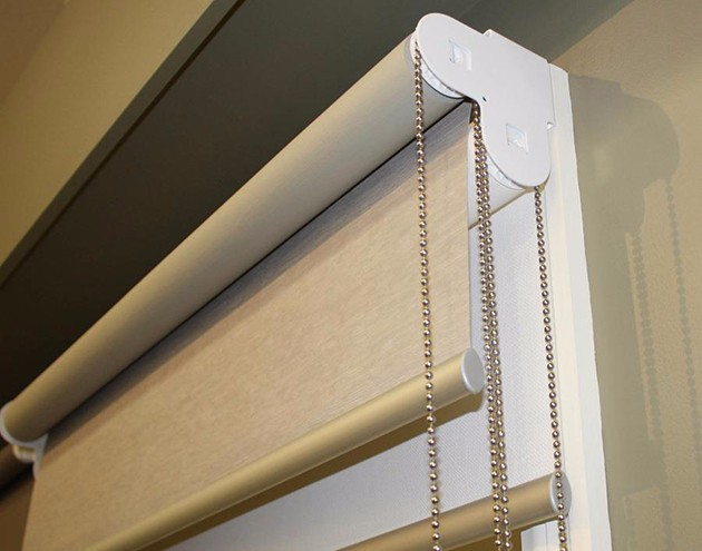 Rraj Motorized Thermal Blackout Double Roller Blinds Buy