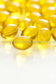 GMPc Enteric Coated Softgels Cod Liver Oil Vitamin A Vitamin D