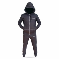 OEM Mens Tracksuit Fleece Jogging Top Bottoms Trousers Joggers Crew Neck Set tracksuits for men