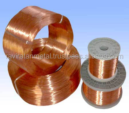 Polyurethane coated copper wire