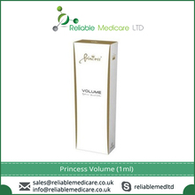 Princess Volume (1ml) for Natural Looking, Smoothing Out Facial Wrinkles and Folds