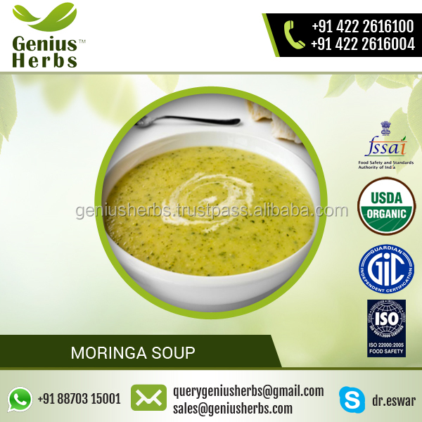 High Grade Balanced Composition Moringa Soup for Sale